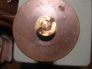 Гильза от финской 45 мм пушки