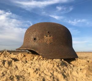 Шлем М-35,Сталинград