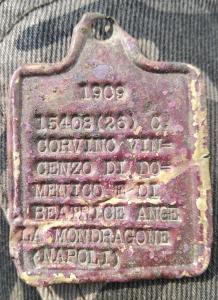 Жетон (лоз) Италия