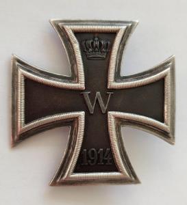 Железный крест 1 класса образца 1914 года
