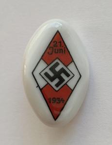 Значок соревнований ГЮ 1934 года