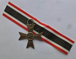 Крест KVK 2 степени без мечей с лентой