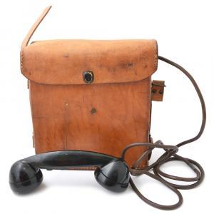 Полевой телефон Е-Е-8А, 1942 г., ленд-лиз