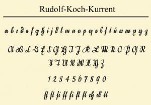 Готический шрифт