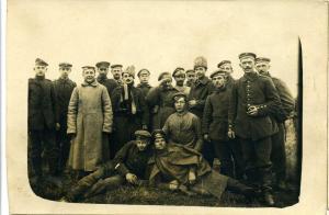 Интересное групповое фото (немцы и русские)