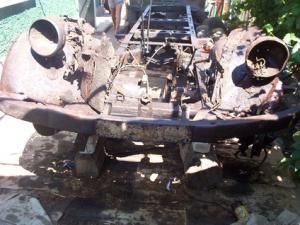 Затанувший немецкий грузовик
