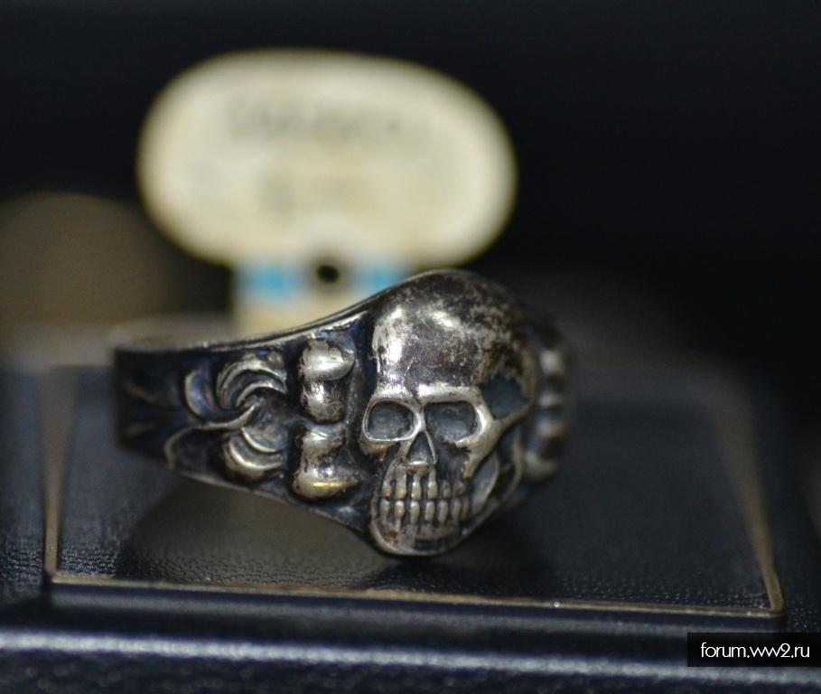 Кольцо СС с биркой