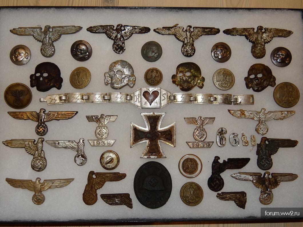 Коллекцию немецких в