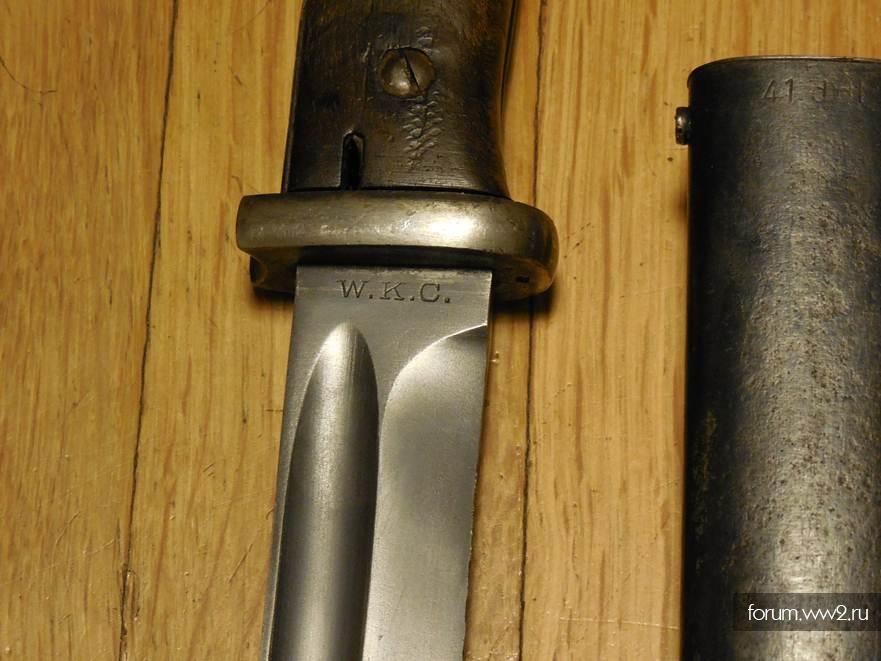 фото клейма на штык ножах том, что