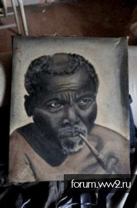 Портрет афроамериканца