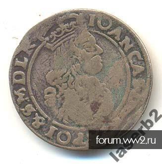 монета предположительно польша