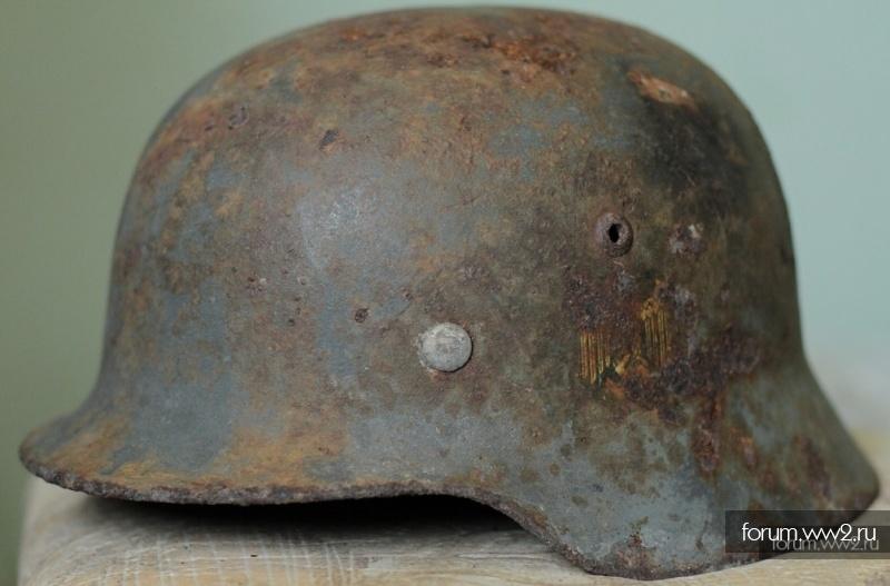 Шлем М35 DD в перекрасе