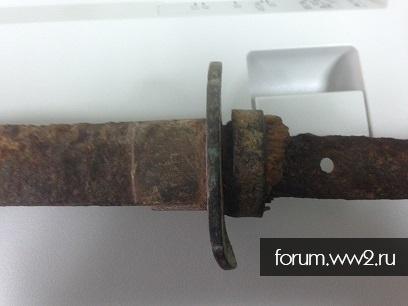 фрагмент меча с Сахалина