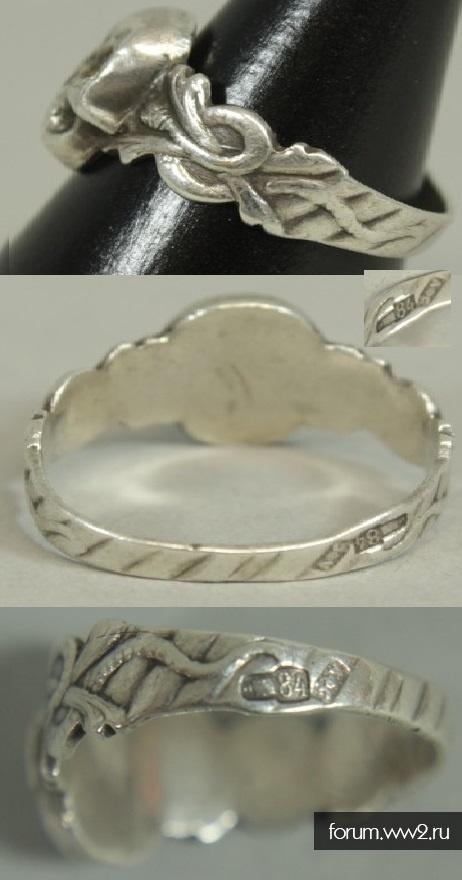 Кольцо Адамова голова РИА