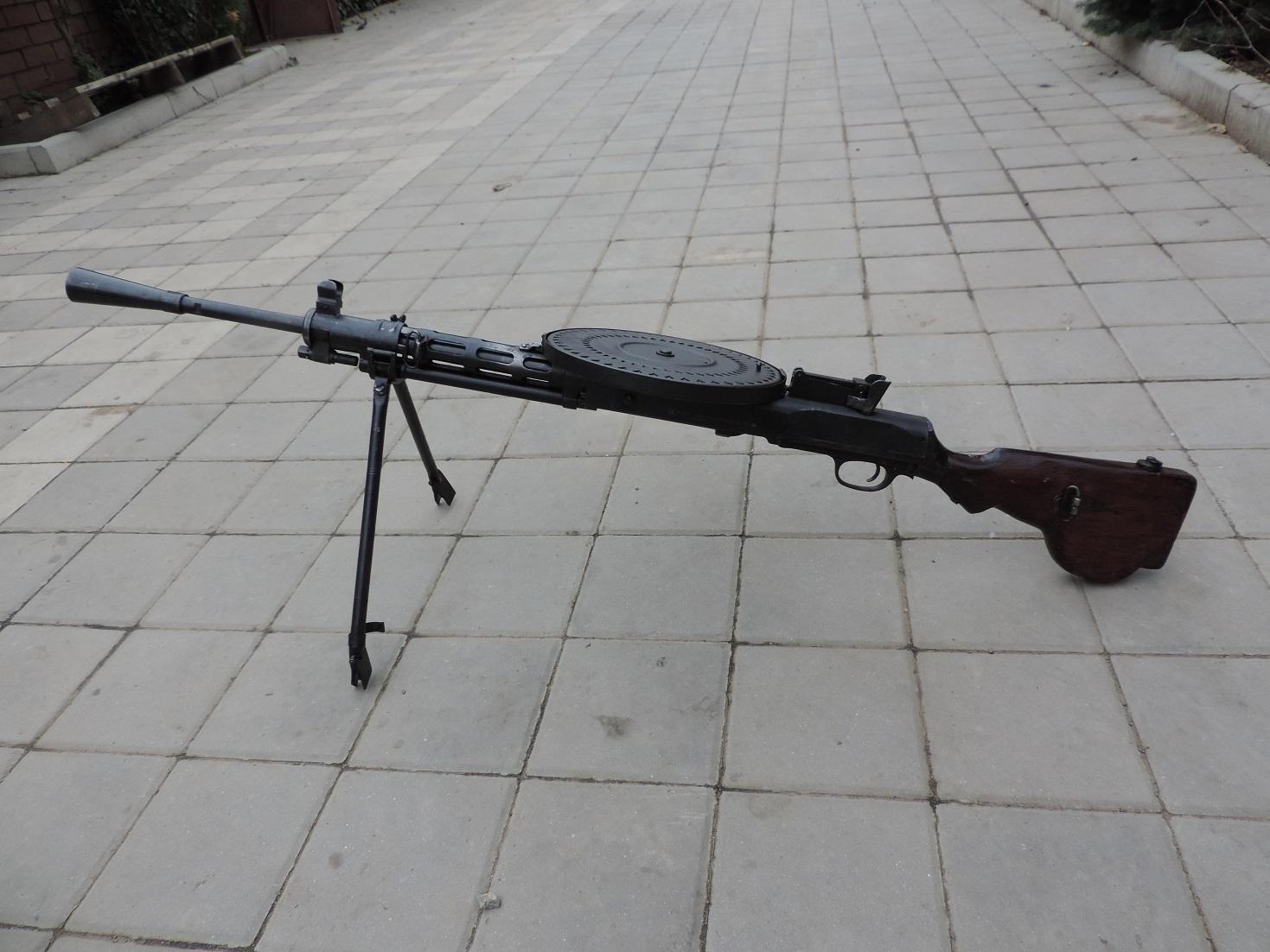 Пулемет ДП-27 СХП