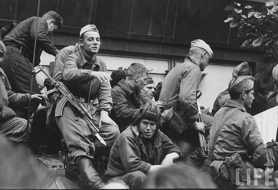 Список военнослужащих участвующих в чехословаских событиях