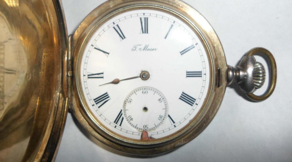 Карманные часы moser