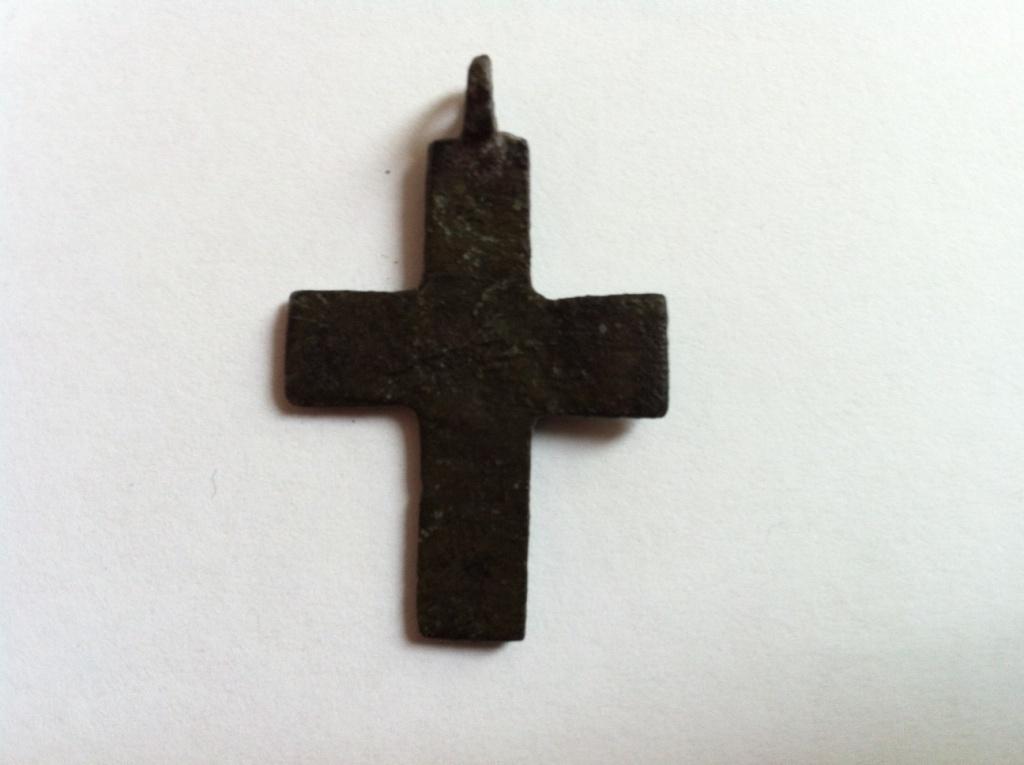 Крестик и подвеска бронза