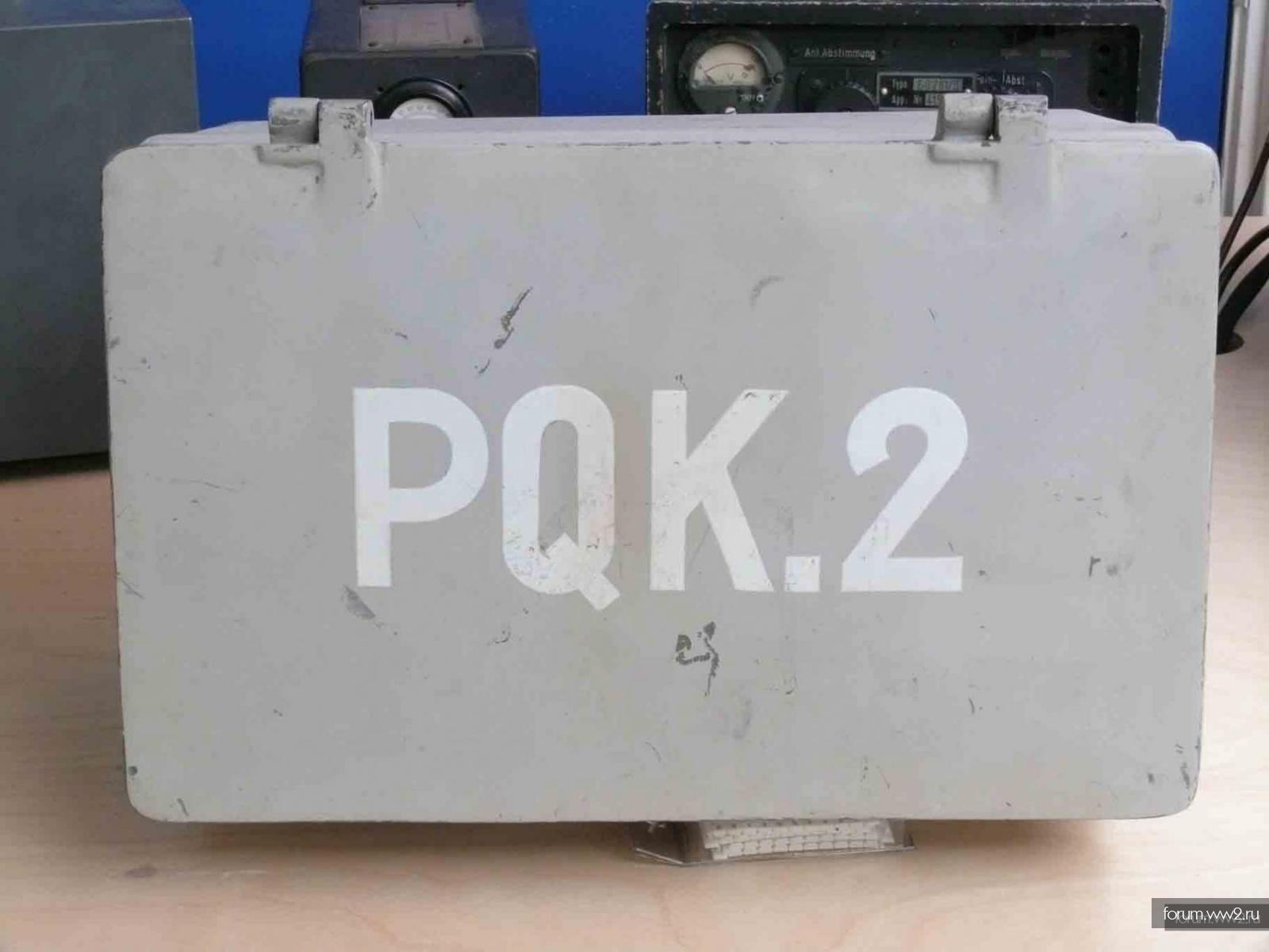 Quarzwellen Prufgerat PQK.2