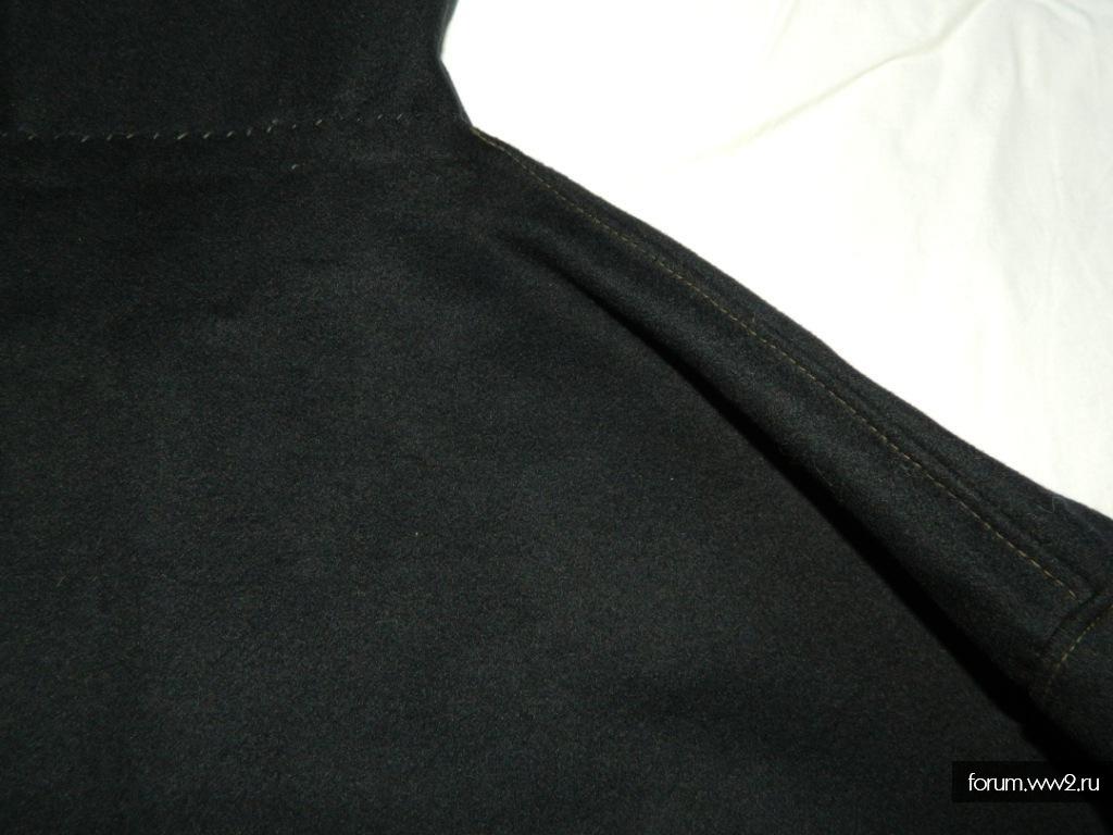 Морская суконная рубаха на пуговицах.