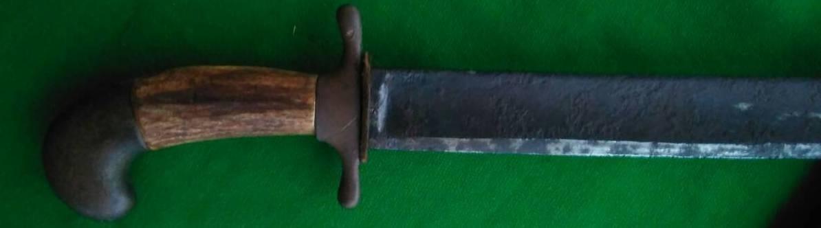 Топорный нож для нижних чинов портовой полиции