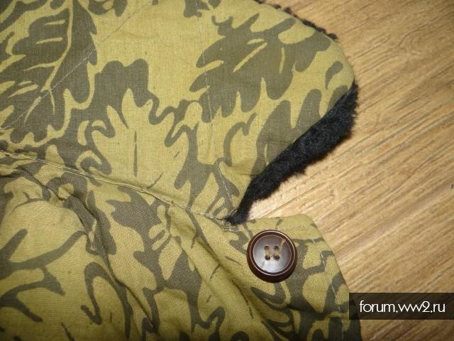 Зимняя куртка камуфляж Дубовый лист ? ВВС СССР или соц лагерь