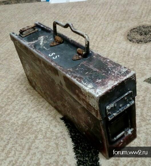 Ящик с маслёнками к MG