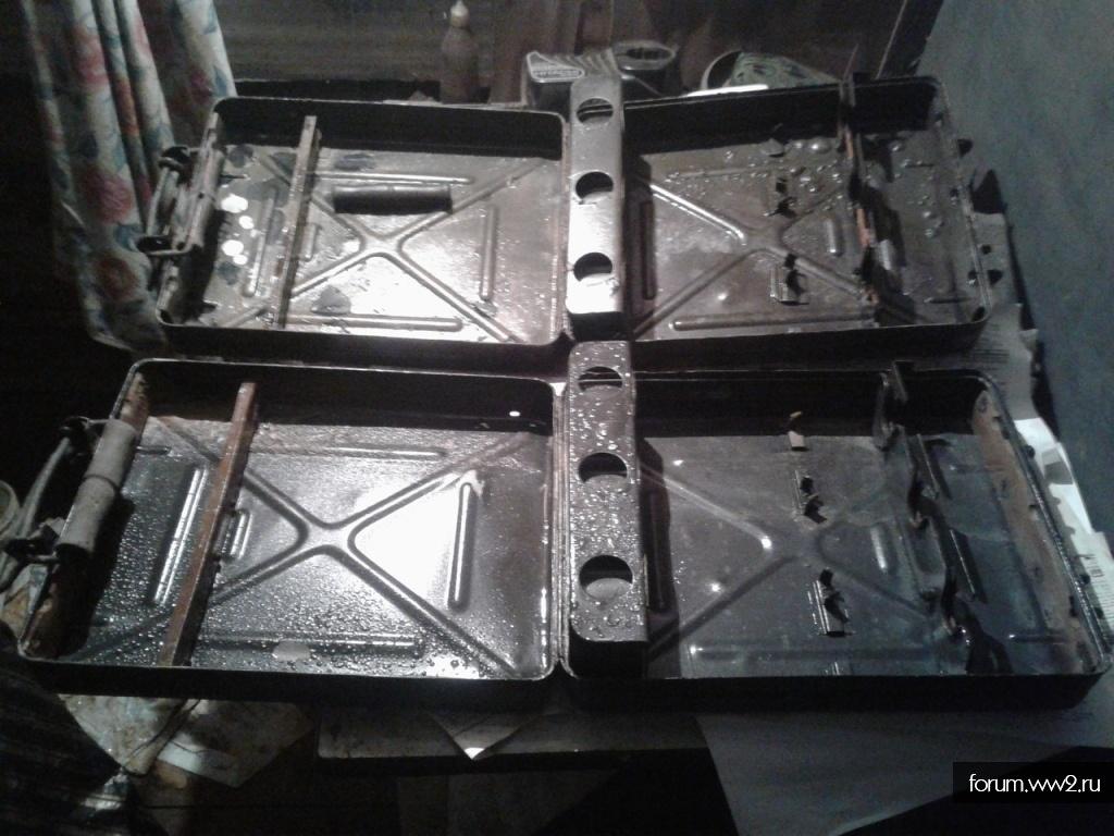 Ящики под мины 8 см.