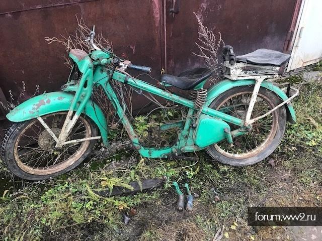 Ходовка Мотоцикла DKW SB 300 или 350
