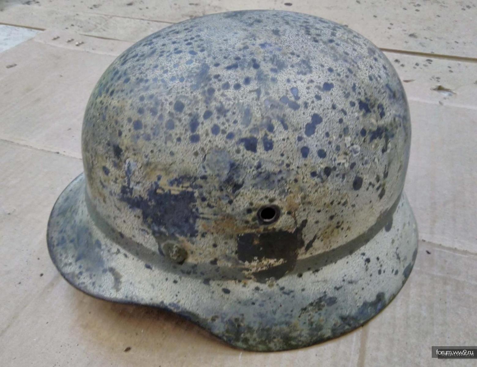 Шлем М35 Зимний окрас.