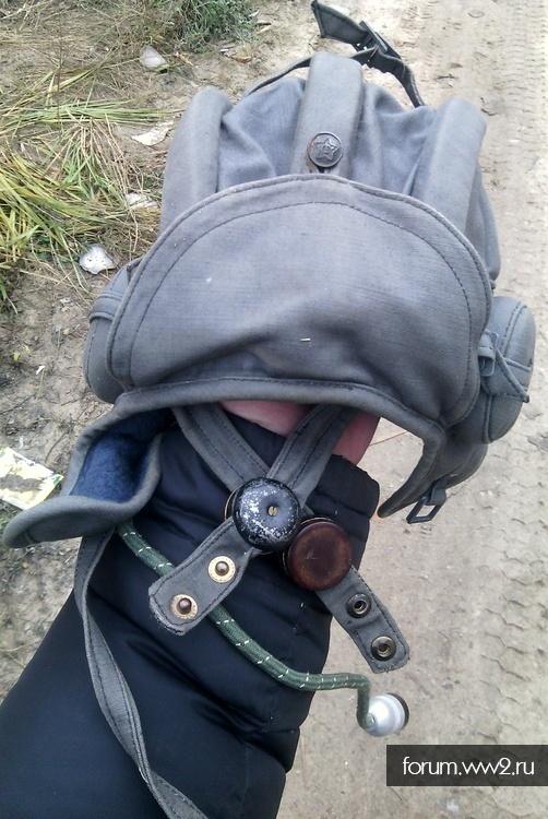 Шлем танковый 45 г.в.