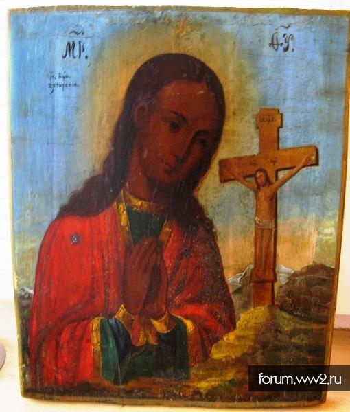 Икона Ахтырская Пресвятая Богородица 19 век