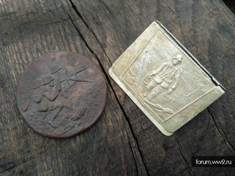 Корпус зеркала и спичечница (вермахт)