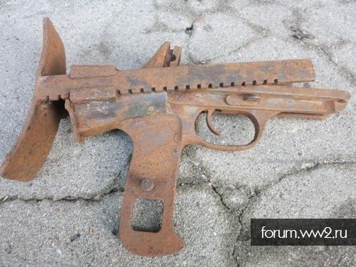 Рукоять ДТ-29 с прикладом