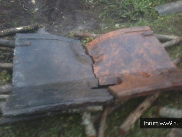 Каток с балансиром и частью торсиона КВ-1с
