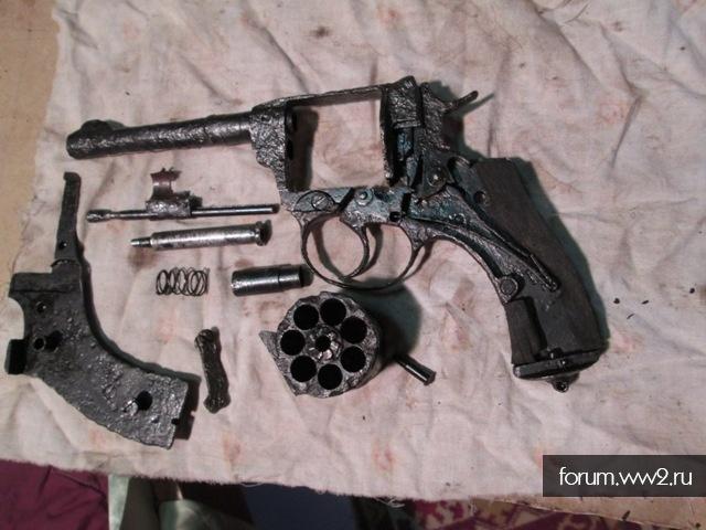 Револьвер наган (коп)