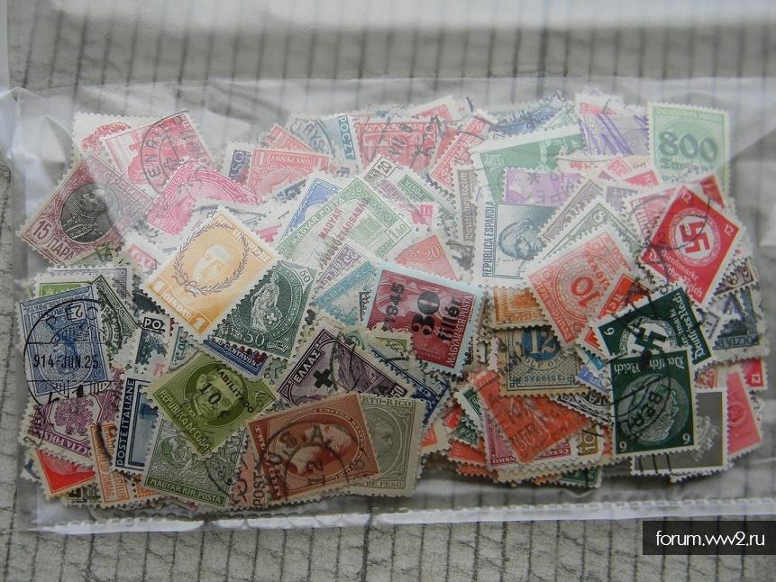 1000 старинных почтовых марок