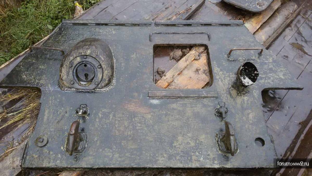 лобовая т-34