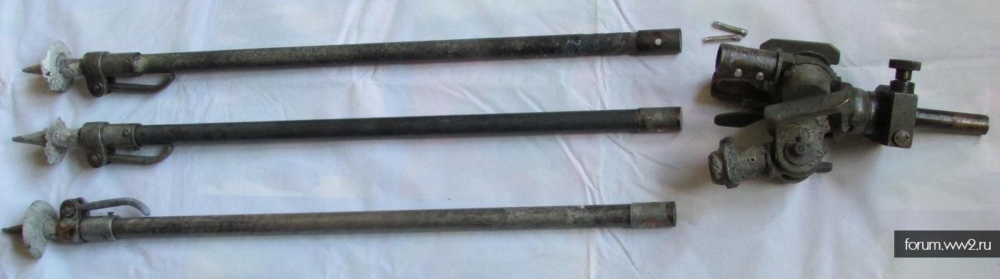 1)детали к зенитной треноги для MG34-42.