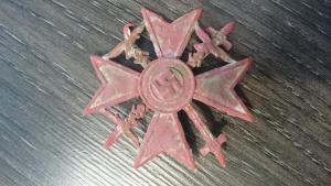 Испанский крест с мечами
