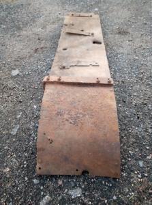 Часть крыла Т26 .Метал крепкий