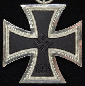 14.23. Железный Крест 2 класса - клеймо 13 , производитель Gustav Brehmer