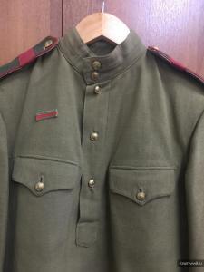 Гимнастерка ст.сержанта РККА обр. 1943 г. на подлинность