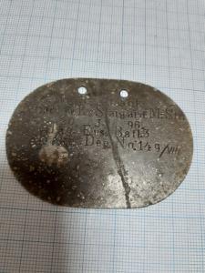 Лот немецких жетонов на ПМВ.