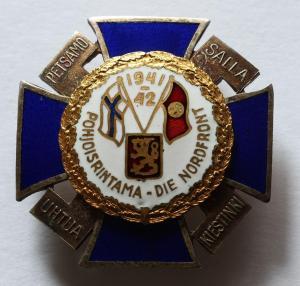 Крест Северного Фронта 1941 - 1942 гг
