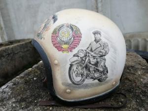 Мото шлем СССР