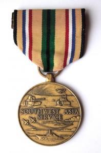 США. Медаль за службу в Юго-Западной Азии.