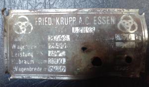 Антуражкая шильда от Krupp L2H4
