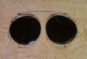 Военные солнцезащитные очки – накладки на обычные круглые очки, США