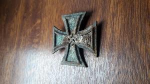Железный крест 1-го класса не магнитный
